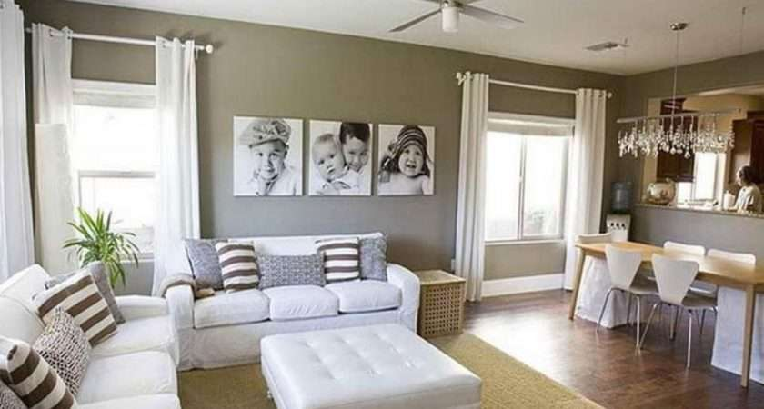 Comfortable Living Room Paint Color Ideas Tufted