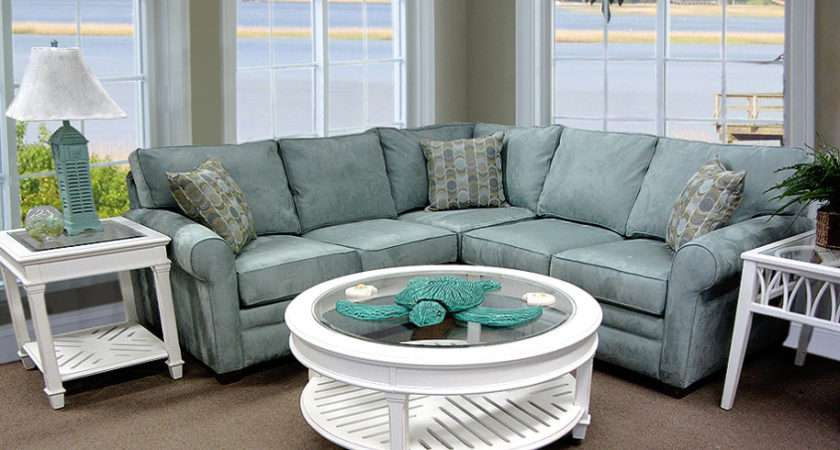 Comfortable Small Sectional Sofa Simple Room