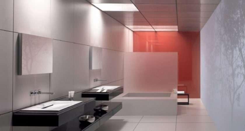 Commercial Bathroom Design Interior