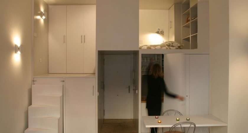 Compact Loft Madrid Displaying Smart Storage Solutions Beriot