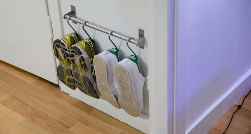 Compact Shoe Storage Using Grundtal Ikea Hackers