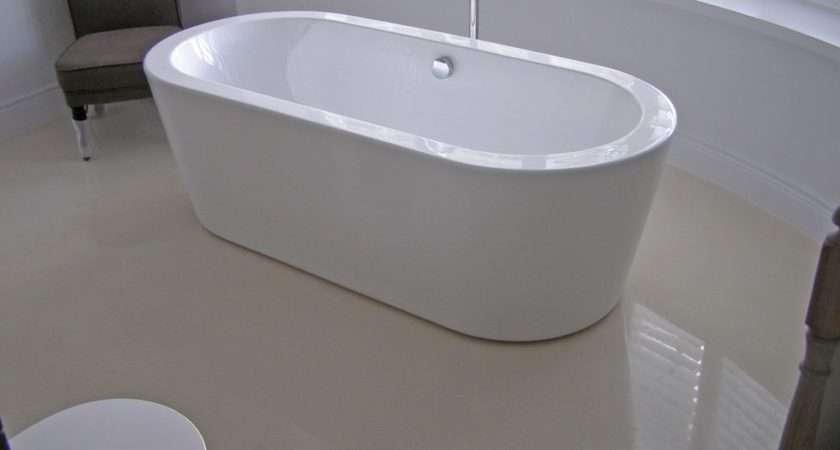 Concrete Bathroom Flooring Home Improvement Resources