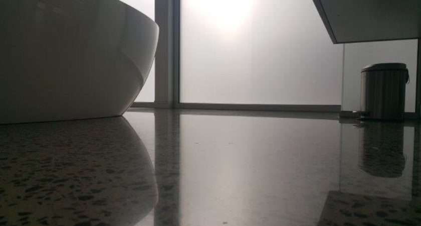 Concrete Polished Bathrooms Eco Grind Melbourne