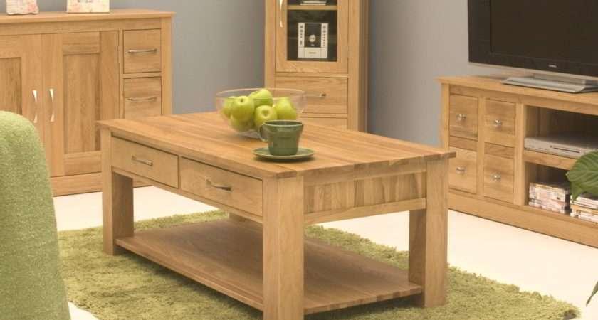 Conran Solid Oak Living Room Lounge Furniture Four Drawer