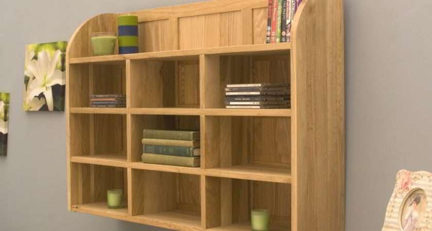Conran Solid Oak Modern Furniture Dvd Office Storage