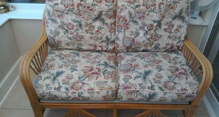 Conservatory Cane Two Seater Settee Willenhall Dudley