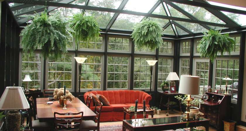 Conservatory Room Nature Delight Decorative