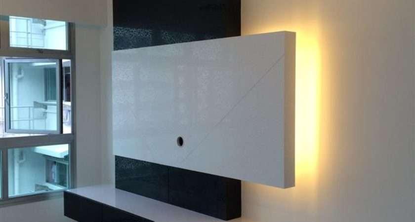 Console Feature Wall Simple Closet Pte Ltd