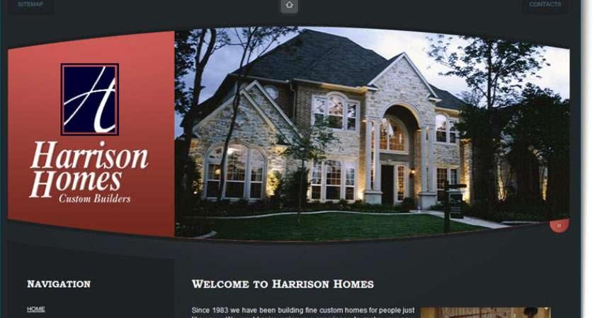 Construction Website Design Harrison Homes Your Web