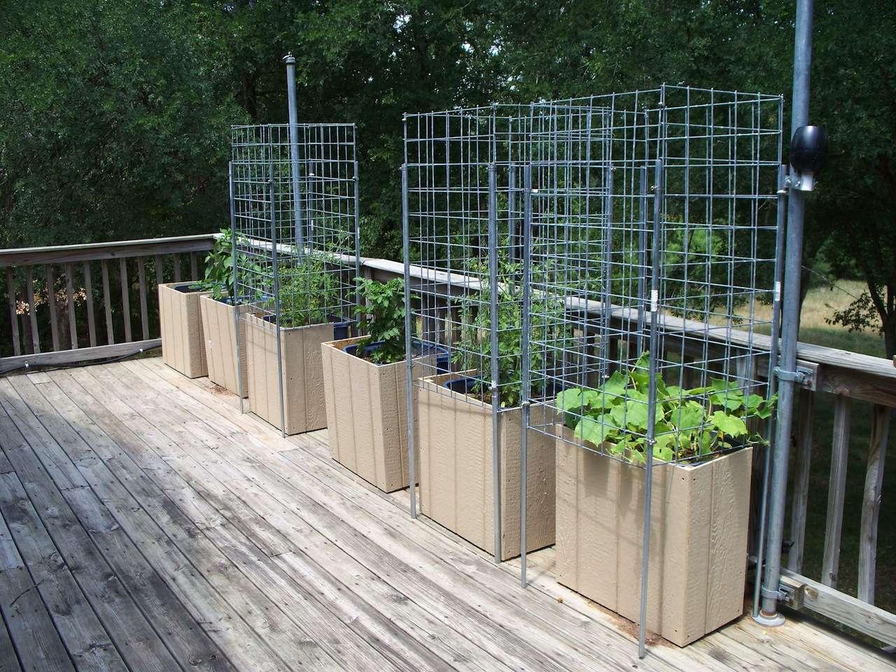 Container Garden Deck Gardendeck