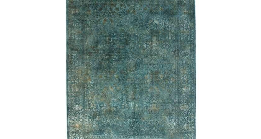 Contemporary Designer Rug Lacuna Blue Swanky Interiors