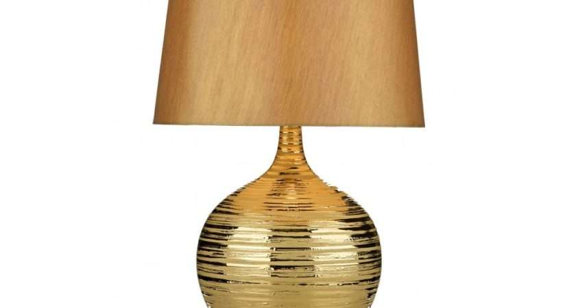 Contemporary Gold Table Lamp Buy