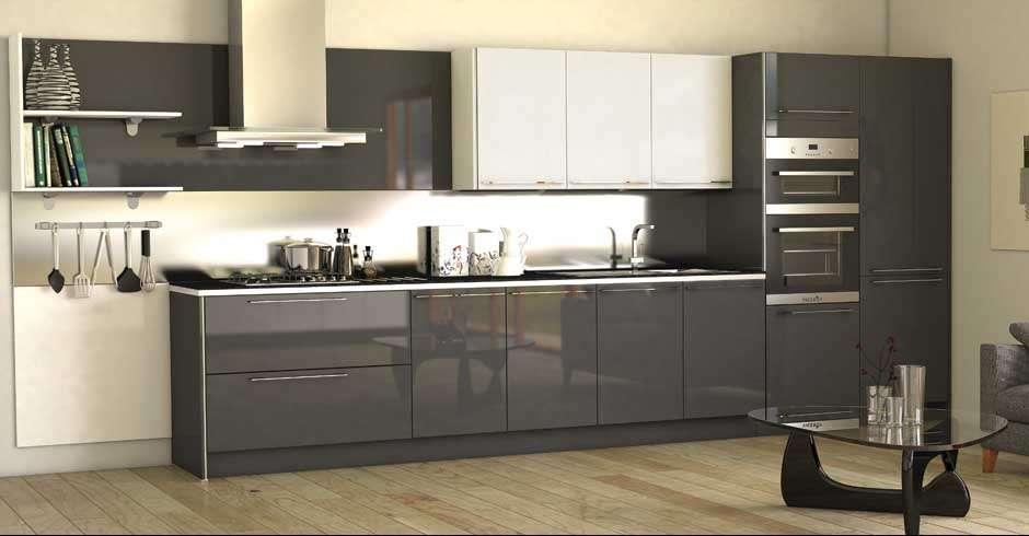 Contemporary High Gloss Kitchen Cabinet Design Ideas Decor Makerland