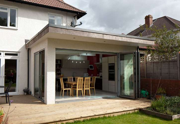 Contemporary Home Extension Loft Conversion Henleaze House
