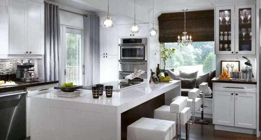 Contemporary Kitchen Window Treatments Hgtv