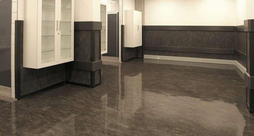 Contemporary Linoleum Flooring Decosee