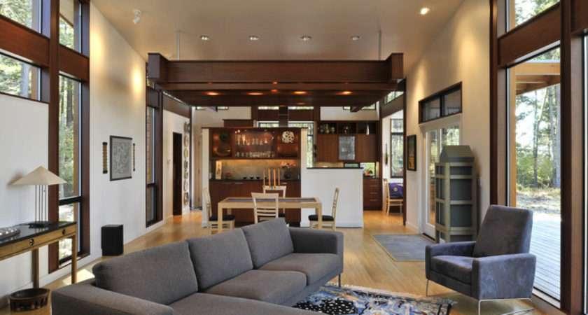 Contemporary Living Room David Vandervort Architects