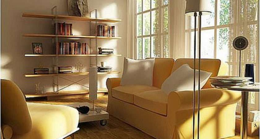 Contemporary Minimalist Small Living Room Interior Design