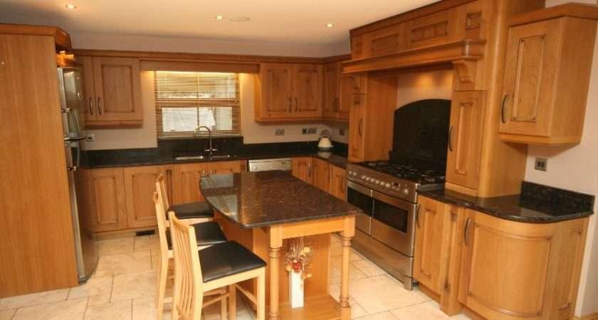 Contemporary Oak Inishowen Donegal Chef Kitchen