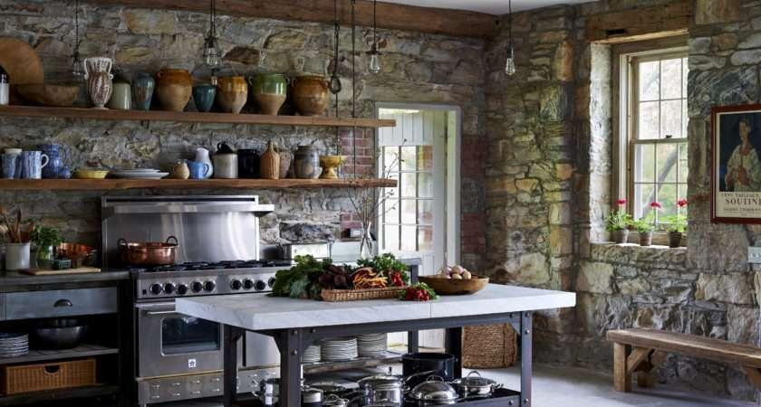 Contemporary Rustic Kitchen Bestartisticinteriors