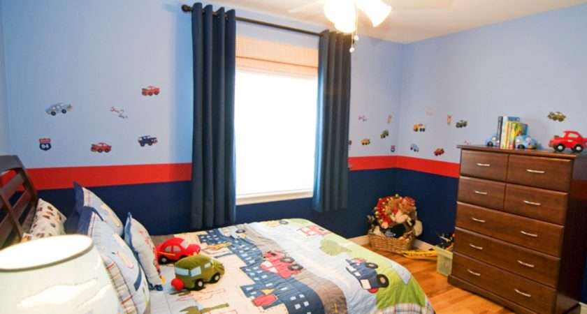 Contemporary Toddler Bed Boys Plus Transportation Wall Decal Idea