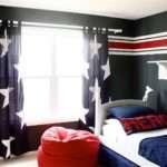 Control Lighting Curtains Boys Bedroom