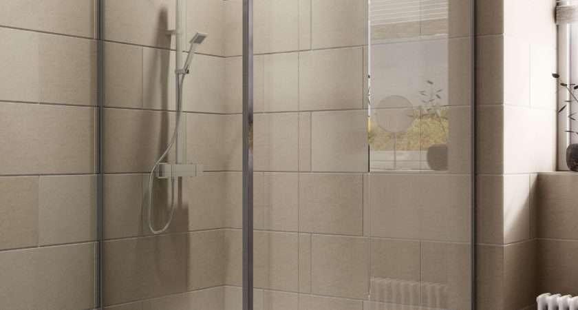 Cooke Lewis Luxuriant Rectangular Shower Enclosure