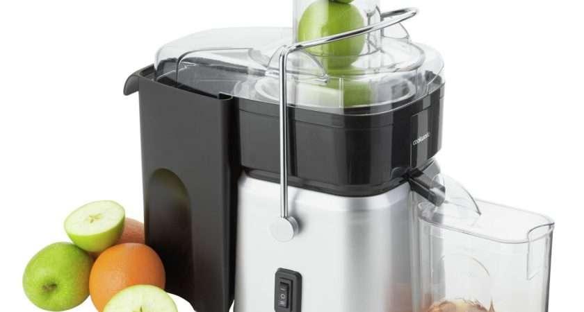 Cookworks Whole Fruit Juicer Steel