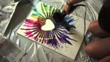 Cool Art Projects Home Crayon Project Youtube Dma Homes
