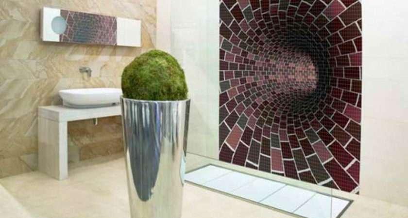 Cool Bathroom Tile Designs Modern Homes