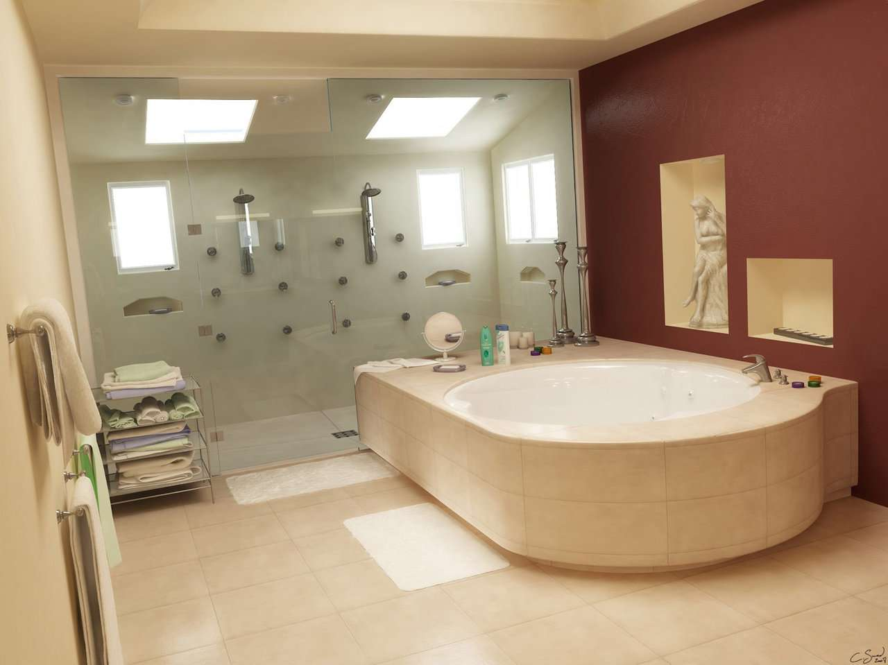 Cool Bathrooms Designs Interior Designing Home Ideas