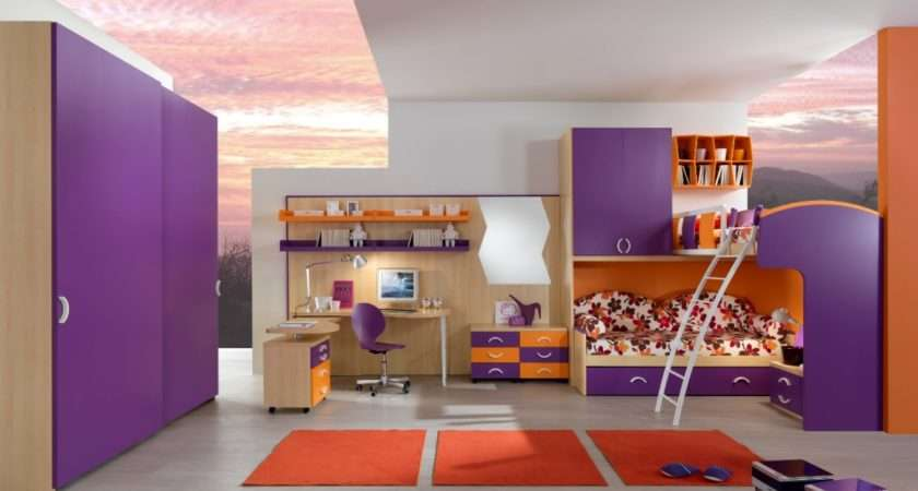 Cool Bedroom Ideas Teenage Girls Bunk Beds