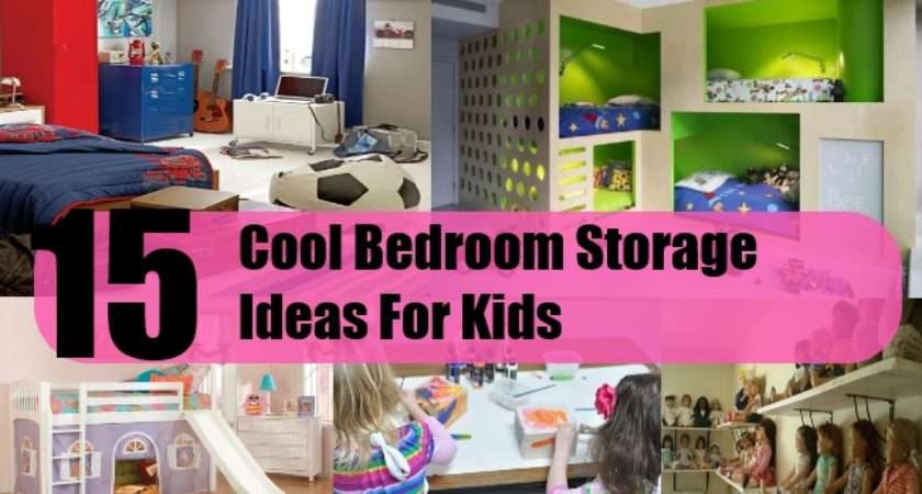 Cool Bedroom Storage Ideas Kids Home Good