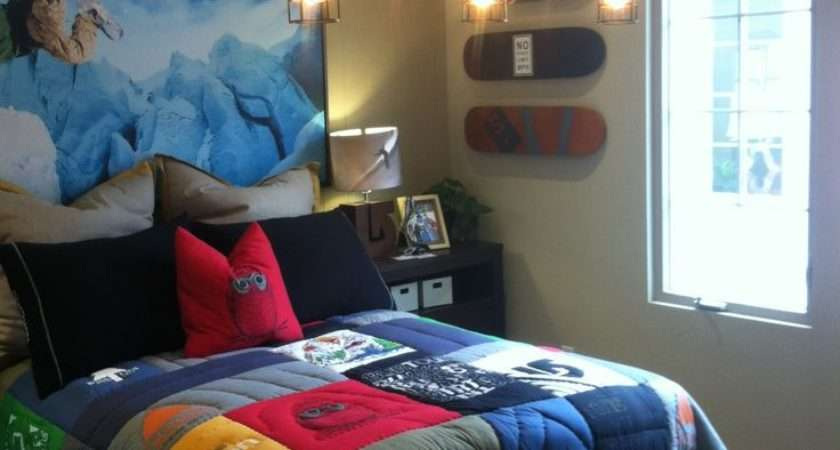 Cool Bedroom Themes Teenage Guys Redglobalmx