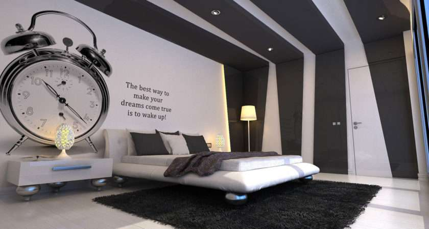 Cool Bedroom Wall Designs Urban
