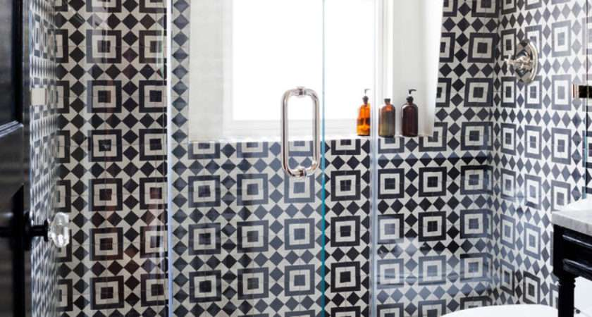 Cool Black White Bathroom Design Ideas Digsdigs