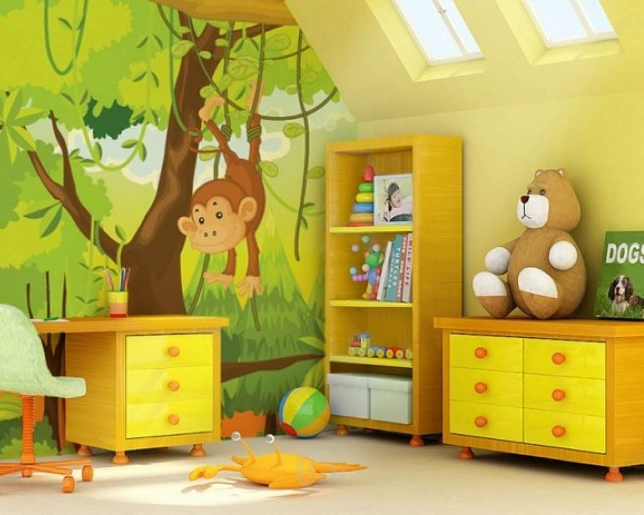 Cool Childrens Room Funny Living