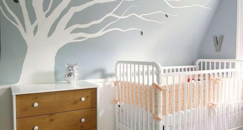 Cool Colour Scheme Modern Day Nursery Style Lauren Hufnagl