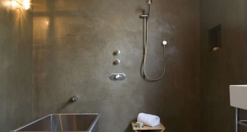 Cool Concrete Bathroom Design Ideas