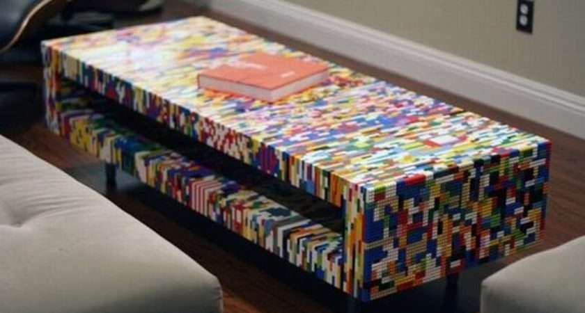 Cool Furniture Designs Made Out Legos