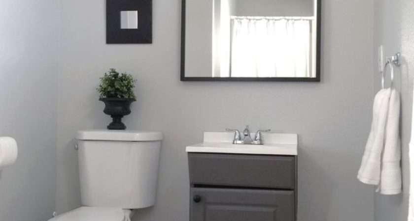 Cool Light Grey Paint Bathroom Homedcin