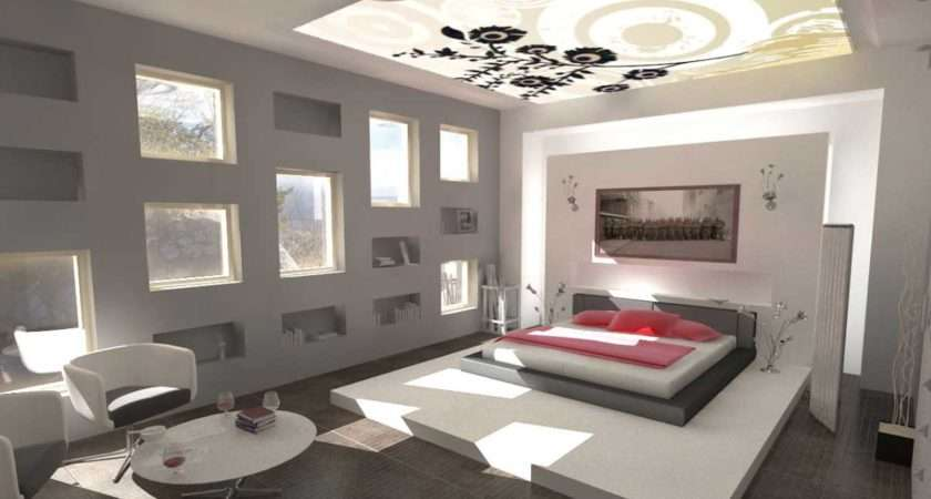 Cool Room Paint Designs White Grey Colors Ideas