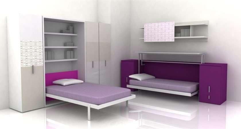 Cool Teen Rooms Furniture Small Spaces