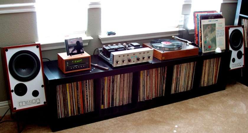Cool Vinyl Record Storage Ideas Home Tweaks