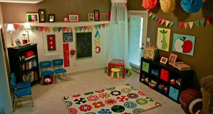 Coolest Playroom Decorating Ideas