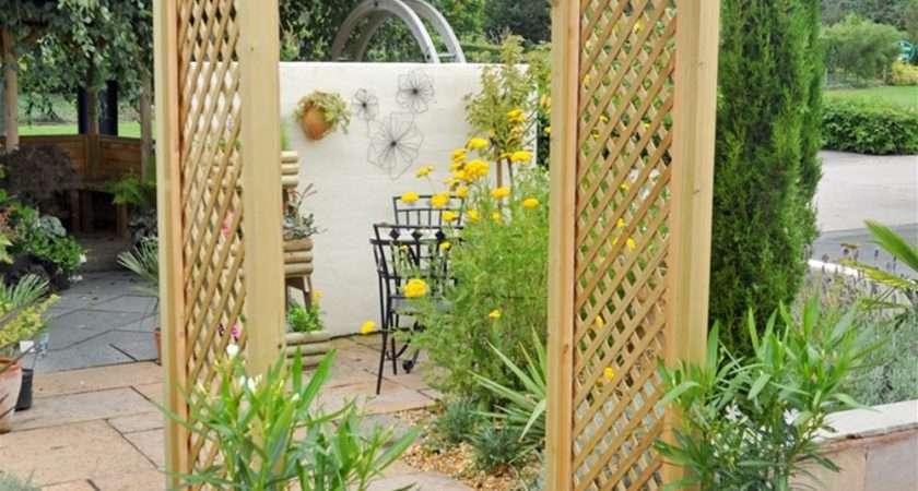 Coppice Wooden Lattice Garden Arch Internet Gardener