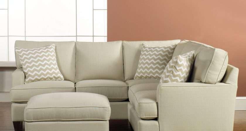 Corner Cream Fabric Couch Zigzag Cushions Plus Short