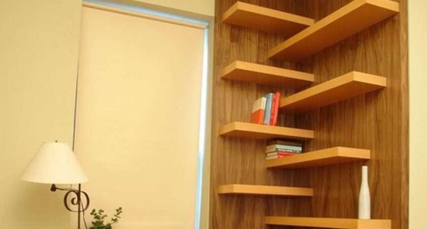 Corner Wall Shelf Ideas Maximize Your Interiors