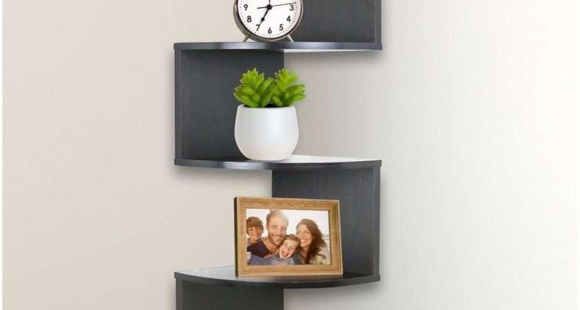 Corner Wall Shelves Bedroom