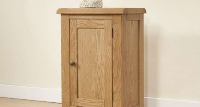 Cotswold Rustic Light Oak Small Cabinet Door